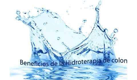 Hidroterapia de colon Beneficios