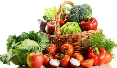 Para vivir come más verduras