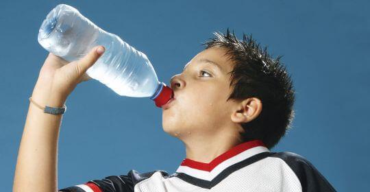 Hidratación en edad escolar